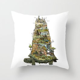 THE TORTOISE Throw Pillow
