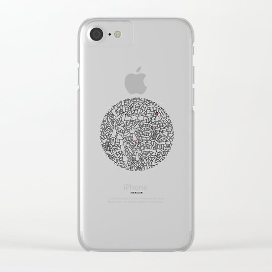 - bloc - Clear iPhone Case