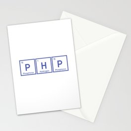 Php developer shirt and hoodie Stationery Cards
