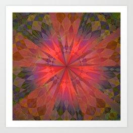 Light burst Art Print