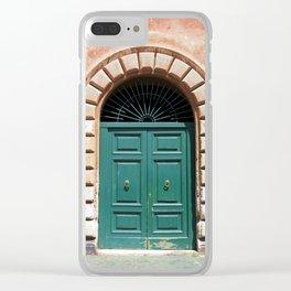 Door in Rome Clear iPhone Case