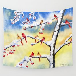 Winter Song 2 Wall Tapestry