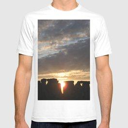 Sunset at Stonehenge T-shirt
