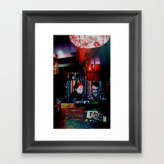 The Old Firestation Framed Art Print