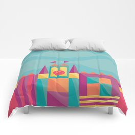It's a small world after all | Disneyland Inspired Comforters