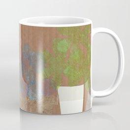 Vases on Board Coffee Mug