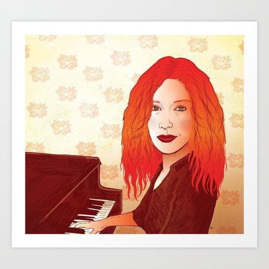 Tori Amos Art Print