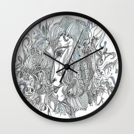 The Lady Vanishes Wall Clock