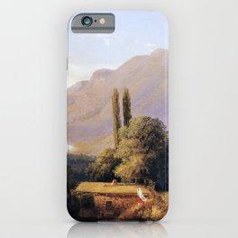 Crimean Landscape 1891 By Lev Lagorio   Reproduction   Russian Romanticism Painter iPhone Case