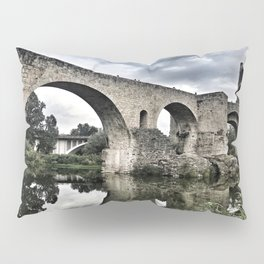 The Bridge of Besalu Pillow Sham