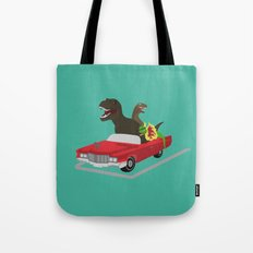 Jurassic Parking Only Tote Bag