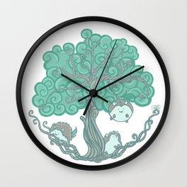 Hedgehogs Grow On Trees Wall Clock
