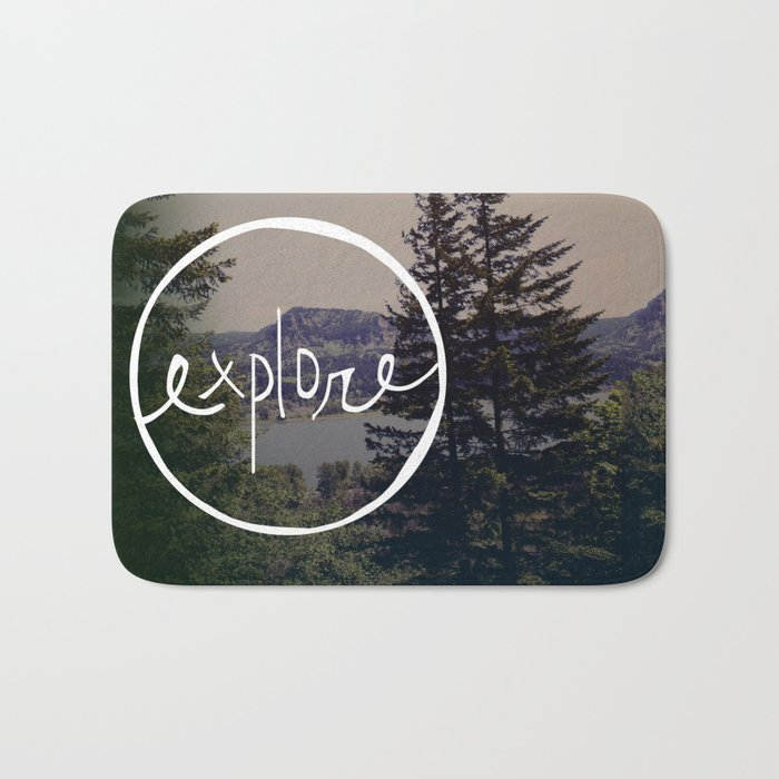 Explore Oregon Bath Mat