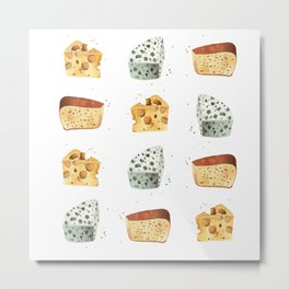 Cheese! Metal Print