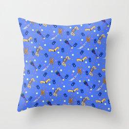 Sailor Uranus Pattern / Sailor Moon Throw Pillow