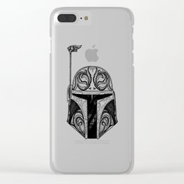 baba fett decor Clear iPhone Case