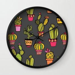 little piece of desert ... (gray) Wall Clock