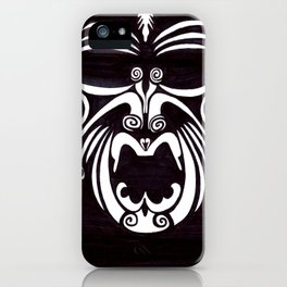 Tribal Mask iPhone Case