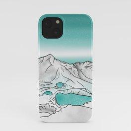 Tongariro Alpine Crossing iPhone Case