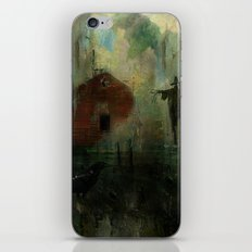The crow and the Scarecrow iPhone & iPod Skin