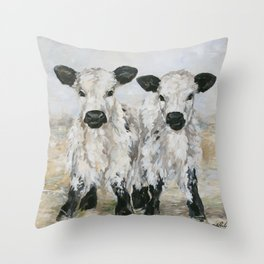 Freckles and Speckles Throw Pillow