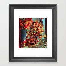 The Side Show Framed Art Print