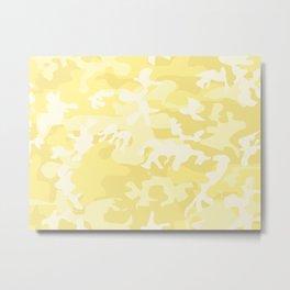 light camo Metal Print