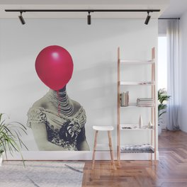 Air pressure in her head Wall Mural