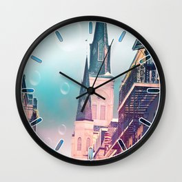 Surreal St. Louis Cathedral Wall Clock