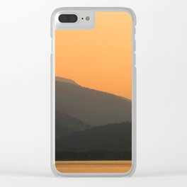 Twilight Hours Clear iPhone Case