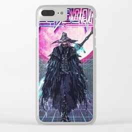 BloodBorne VHS Clear iPhone Case