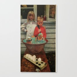 Gramma Soup Canvas Print