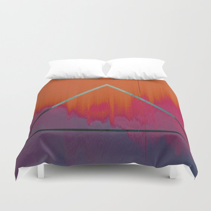 Clear as Day Duvet Cover