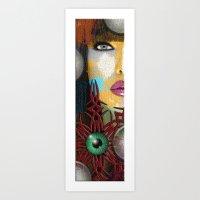 trippy Art Prints featuring Trippy by Müge Başak