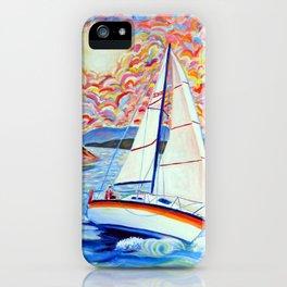 Sailing Okanagan iPhone Case