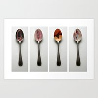 The Spoon Mouth Four Art Print