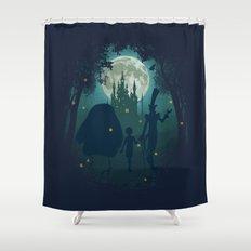 Midnight Stroll Shower Curtain