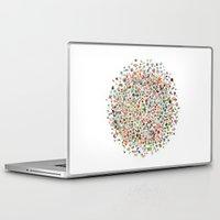 pi Laptop & iPad Skins featuring pi by koicoyfish
