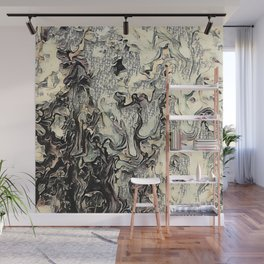 Texture Overlay Abstract Design Wall Mural