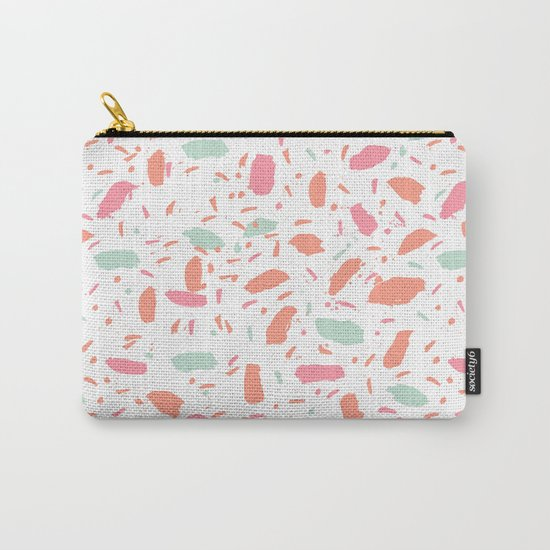 Bessie - abstract minimal modern gender neutral trendy painting dorm college office decor Carry-All Pouch