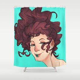Smug Shower Curtain