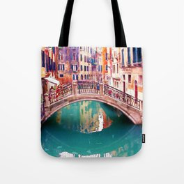 Small Bridge in Venice Tote Bag