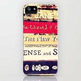 Classic Books iPhone Case