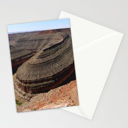 A Meander Of The Goosenecks Stationery Cards