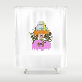 Goddess Cuts & Color Shower Curtain