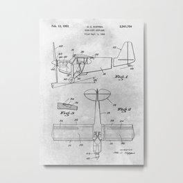 1949 High-Lift airplane Metal Print