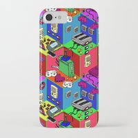 gamer iPhone & iPod Cases featuring Gamer by Ryan GoldLion