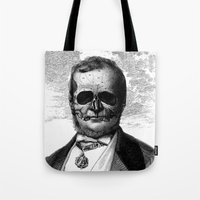 demon Tote Bags featuring Demon by DIVIDUS