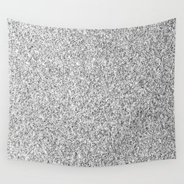 Beautiful Silver glitter sparkles Wall Tapestry