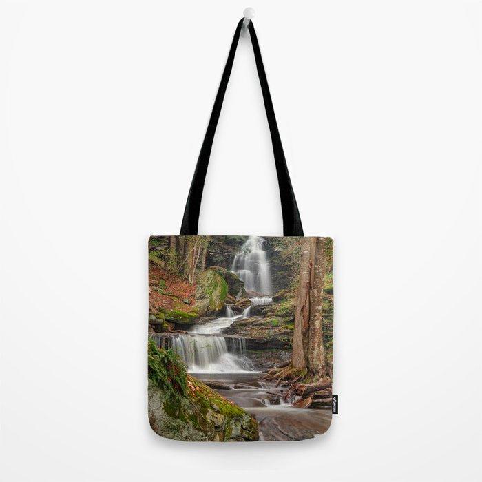 Ricketts Glen Waterfall Layers Tote Bag